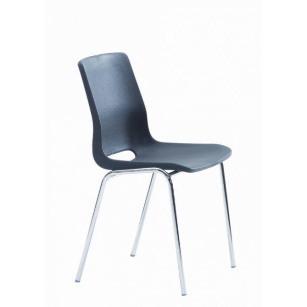 RBM Ana skalstol m/sæde-rygpude Oxford ( Rabat 20 - 35 % )