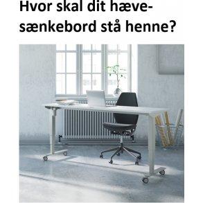 2 SØJLET HÆVE-SÆNKEBORD  501-33 ( RABAT 20% )